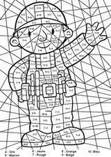 Imprimer le coloriage : Chiffres et formes, numéro 95