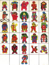 Imprimer le dessin en couleurs : Alphabet, numéro 121164
