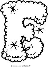 Imprimer le coloriage : Alphabet, numéro 124973