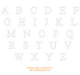 Imprimer le coloriage : Alphabet, numéro 124985