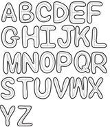 Imprimer le coloriage : Alphabet, numéro 1329dbab