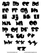 Imprimer le coloriage : Alphabet, numéro 138655