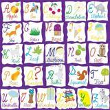 Imprimer le dessin en couleurs : Alphabet, numéro 196403