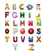 Imprimer le dessin en couleurs : Alphabet, numéro 199334