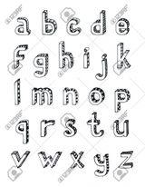 Imprimer le coloriage : Alphabet, numéro 1b11d0e9