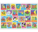 Imprimer le dessin en couleurs : Alphabet, numéro 201377