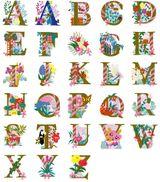 Imprimer le dessin en couleurs : Alphabet, numéro 301621