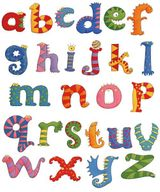 Imprimer le dessin en couleurs : Alphabet, numéro 439109