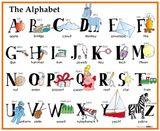 Imprimer le dessin en couleurs : Alphabet, numéro 76607