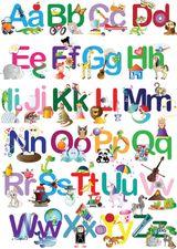 Imprimer le dessin en couleurs : Alphabet, numéro 76609