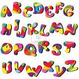 Imprimer le dessin en couleurs : Alphabet, numéro 76644