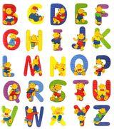 Imprimer le dessin en couleurs : Alphabet, numéro 92182