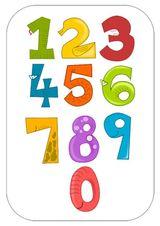 Imprimer le dessin en couleurs : Chiffre deux, numéro 12727