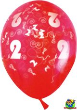 Imprimer le dessin en couleurs : Chiffre deux, numéro 12737