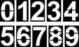 Imprimer le coloriage : Chiffre deux, numéro 16267