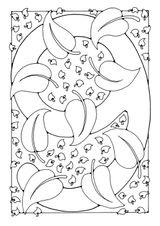 Imprimer le coloriage : Chiffre quatre, numéro 27277
