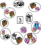 Imprimer le dessin en couleurs : Chiffre trois, numéro 11620