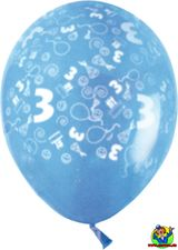 Imprimer le dessin en couleurs : Chiffre trois, numéro 91566