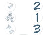 Imprimer le dessin en couleurs : Chiffre un, numéro 12755