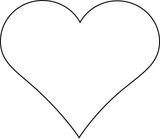 Imprimer le coloriage : Coeur, numéro 113534