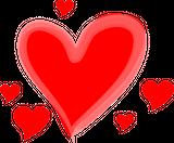 Imprimer le dessin en couleurs : Coeur, numéro 117689