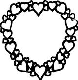 Imprimer le coloriage : Coeur, numéro 141947