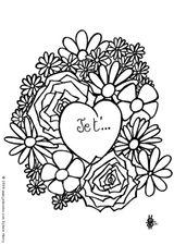 Imprimer le coloriage : Coeur, numéro 141957