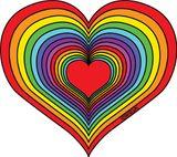 Imprimer le dessin en couleurs : Coeur, numéro 157008