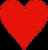 Imprimer le dessin en couleurs : Coeur, numéro 244069