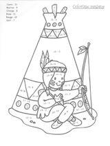 Imprimer le coloriage : Coloriages magiques, numéro 234909e8