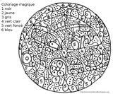 Imprimer le coloriage : Coloriages magiques, numéro 28ae71bf