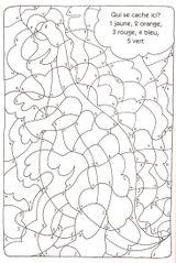 Imprimer le coloriage : Coloriages magiques, numéro 3e7229e2