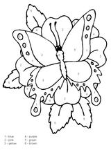 Imprimer le coloriage : Coloriages magiques, numéro 576044