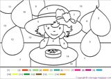 Imprimer le dessin en couleurs : Coloriages magiques, numéro 579903