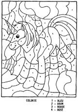 Imprimer le coloriage : Coloriages magiques, numéro 754157