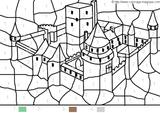 Imprimer le coloriage : Coloriages magiques, numéro 754158