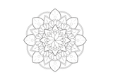 Imprimer le coloriage : Mandalas, numéro 254f164f