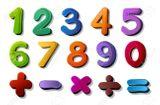 Imprimer le dessin en couleurs : Tous les chiffres, numéro 18fa9713