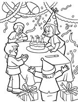 Imprimer le coloriage : Anniversaire, numéro 131290