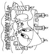 Imprimer le coloriage : Anniversaire, numéro 131302