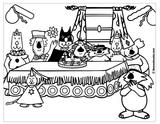 Imprimer le coloriage : Anniversaire, numéro 147706