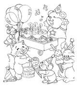 Imprimer le coloriage : Anniversaire, numéro 147726