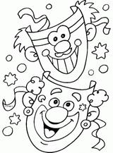 Imprimer le dessin en couleurs : Carnaval, numéro 117561