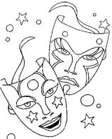 Imprimer le coloriage : Carnaval, numéro 128583