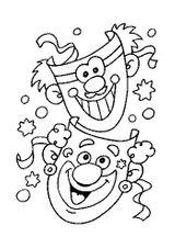 Imprimer le coloriage : Carnaval, numéro 128595
