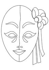 Imprimer le coloriage : Carnaval, numéro 128596