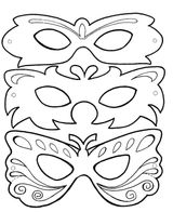 Imprimer le coloriage : Carnaval, numéro 141900