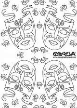 Imprimer le coloriage : Carnaval, numéro 27849