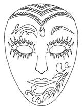 Imprimer le coloriage : Carnaval, numéro 3761