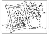 Imprimer le coloriage : Fête des mères, numéro 114337
